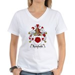 Reinhold Family Crest Women's V-Neck T-Shirt