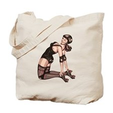 RollerBuzz roller derby diva Tote Bag