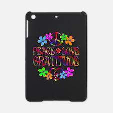 Peace Love Gratitude iPad Mini Case