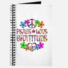 Peace Love Gratitude Journal