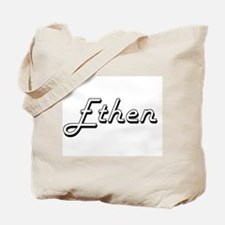 Ethen Classic Style Name Tote Bag