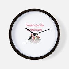 Cute Mackenzie Wall Clock