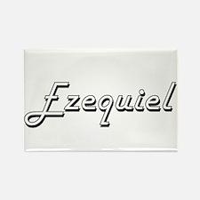 Ezequiel Classic Style Name Magnets