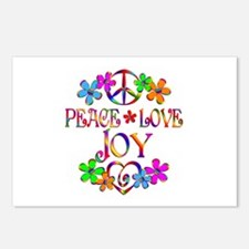 Peace Love Joy Postcards (Package of 8)