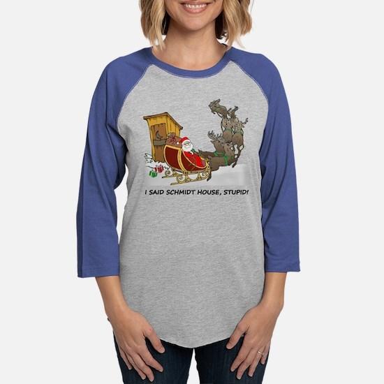 Schmidt House Cartoon Christmas Long Sleeve T-Shir