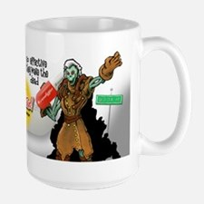 """Gamers Hot Stuff"" Large Mug"