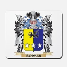 Boomer Coat of Arms - Family Crest Mousepad