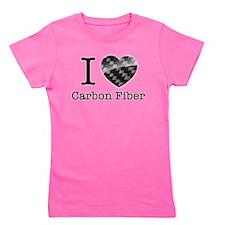 I love Carbon Fiber Girl's Tee