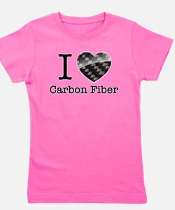 I love Carbon Fiber Girl's Tee