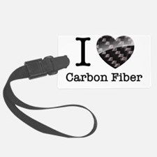I love Carbon Fiber Luggage Tag