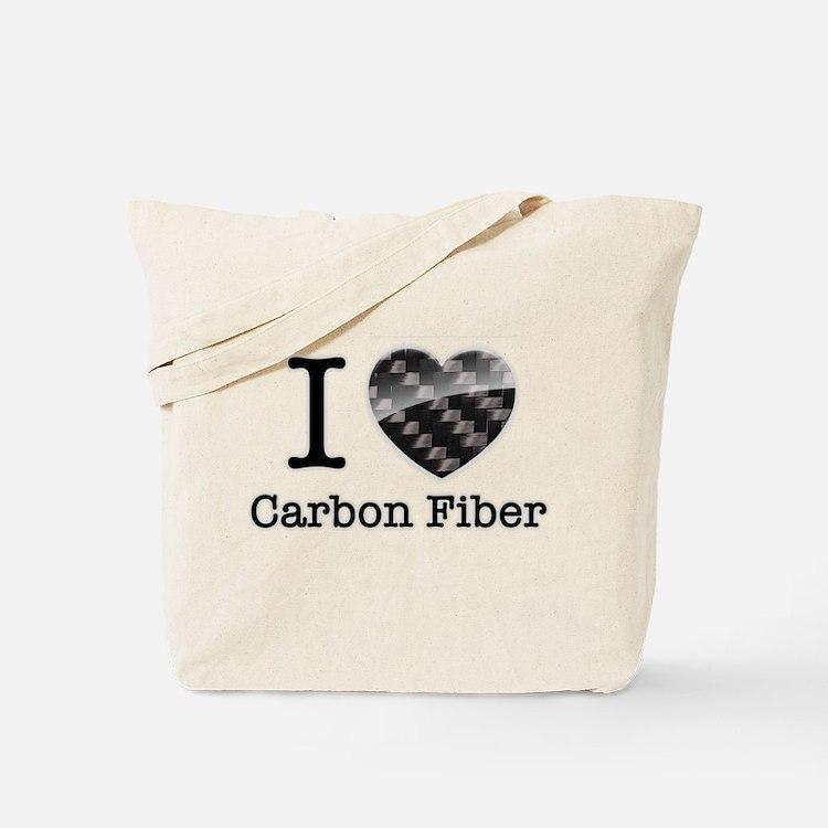I love Carbon Fiber Tote Bag