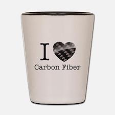 I love Carbon Fiber Shot Glass