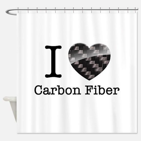 I love Carbon Fiber Shower Curtain
