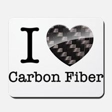 I love Carbon Fiber Mousepad