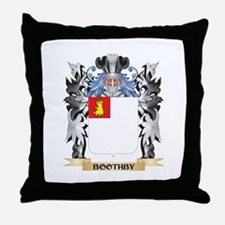 Boothby Coat of Arms - Family Crest Throw Pillow