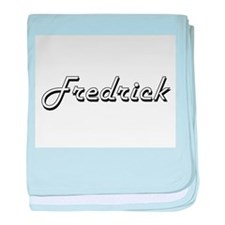 Fredrick Classic Style Name baby blanket