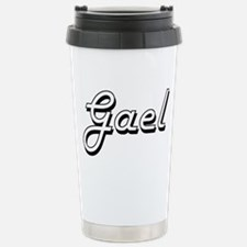 Gael Classic Style Name Stainless Steel Travel Mug