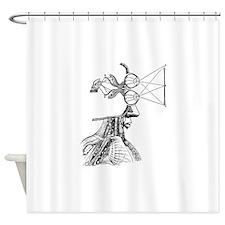 Vintage Medical. Shower Curtain