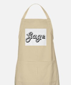 Gage Classic Style Name Apron