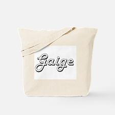 Gaige Classic Style Name Tote Bag