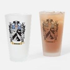 Border Coat of Arms - Family Crest Drinking Glass