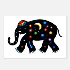 Space Elephant. Postcards (Package of 8)