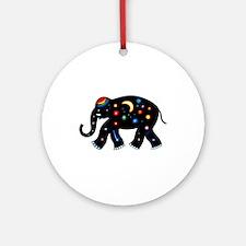 Space Elephant. Ornament (Round)