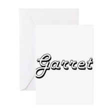 Garret Classic Style Name Greeting Cards