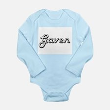 Gaven Classic Style Name Body Suit
