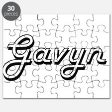 Gavyn Classic Style Name Puzzle