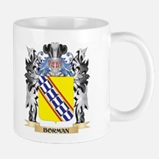 Borman Coat of Arms - Family Crest Mugs