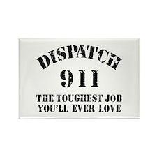 Tough Job 911 Rectangle Magnet