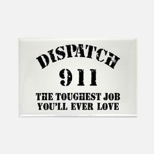 Tough Job 911 Rectangle Magnet