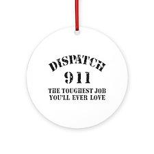 Tough Job 911 Ornament (Round)