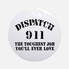 Tough Job 911 Ornament (Round)