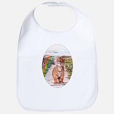 Tigers soap bubbles Bib