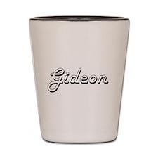 Gideon Classic Style Name Shot Glass
