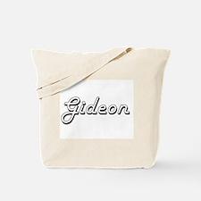 Gideon Classic Style Name Tote Bag