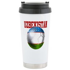 Uzbekistan Football Travel Mug