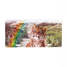 Tigers soap bubbles Aluminum License Plate