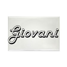 Giovani Classic Style Name Magnets