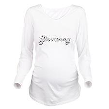 Giovanny Classic Sty Long Sleeve Maternity T-Shirt