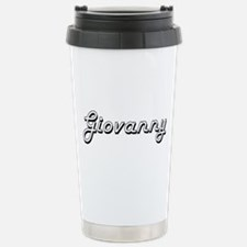 Giovanny Classic Style Stainless Steel Travel Mug