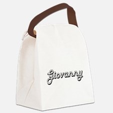 Giovanny Classic Style Name Canvas Lunch Bag