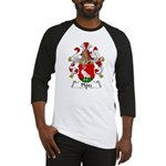 Plotz Family Crest Baseball Jersey