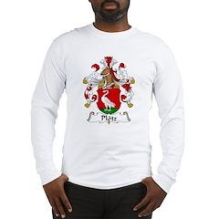 Plotz Family Crest Long Sleeve T-Shirt