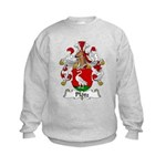 Plotz Family Crest Kids Sweatshirt