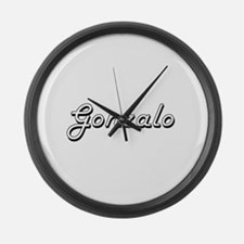 Gonzalo Classic Style Name Large Wall Clock