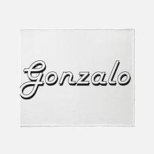Gonzalo Classic Style Name Throw Blanket