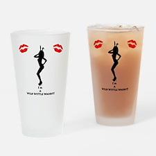 Sexy Playboy Bunny Drinking Glass